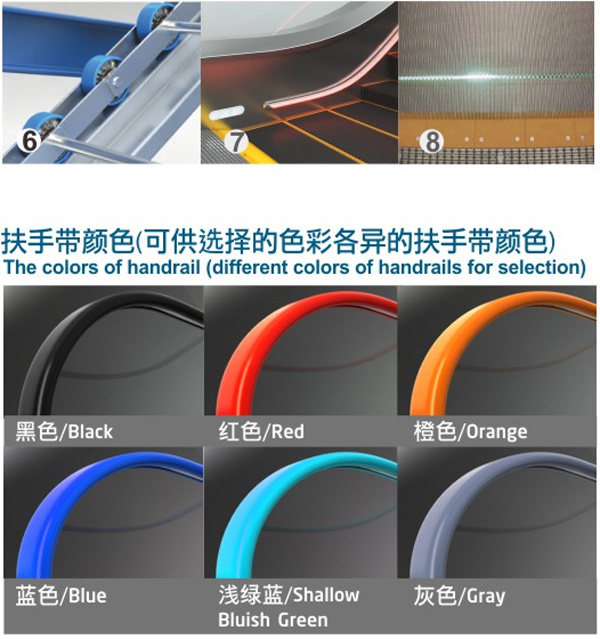 New Design and China Manufacturer Escalator and Moving Walks