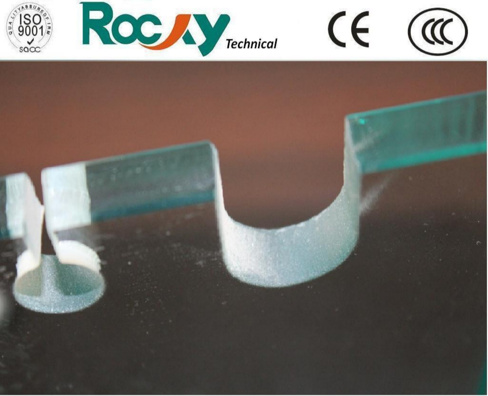 8mm, 10mm, 12mm Tempered Glass with CE/Cccc/ISO Certificate