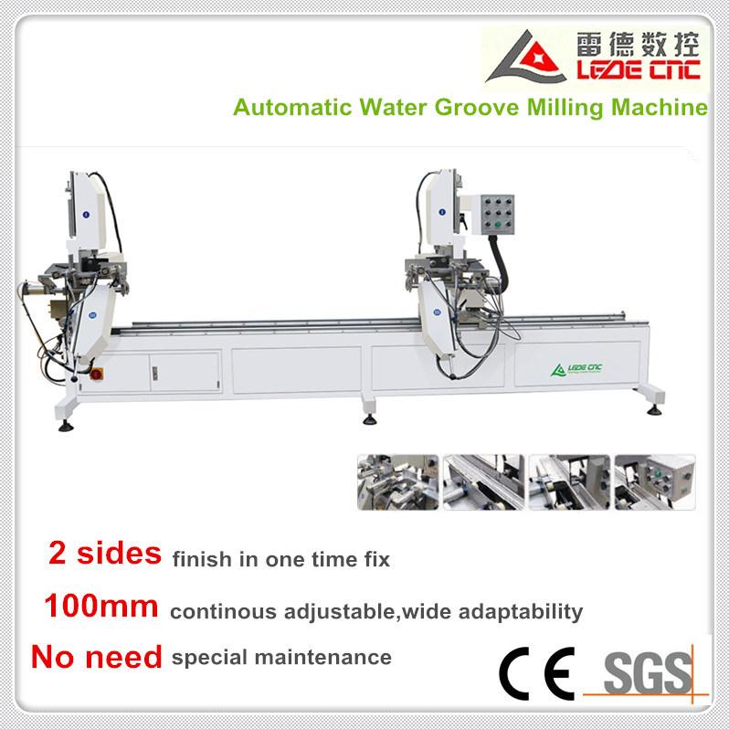 UPVC Windows Machine Automatic Water Groove Milling Machine