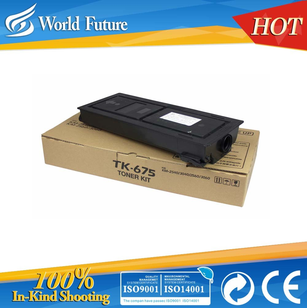 Black Toner Cartridge for Kyocera (TK678)