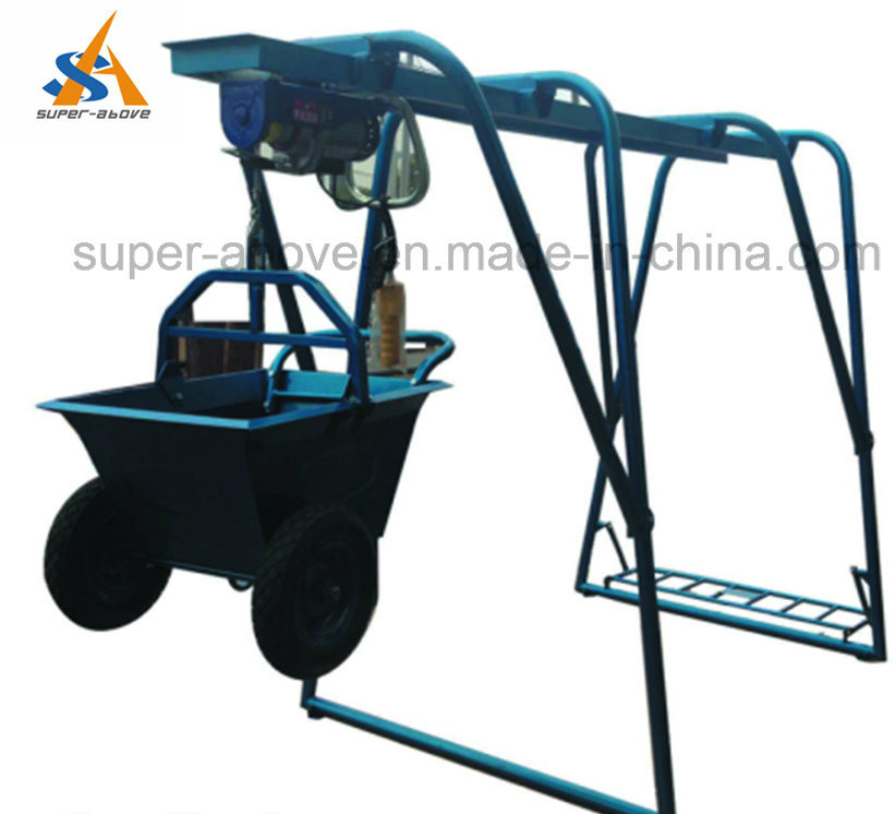 Portable Building Construction Hoist with Electric Engine