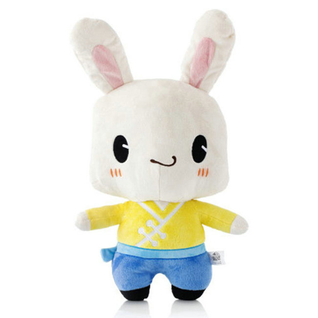 Wholesale White Rabbit Soft Bunny Plush Toy Stuffed Animal