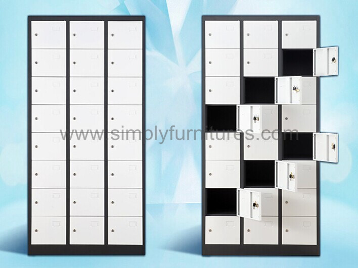 Metal Storage SPA Locker with 24 Doors