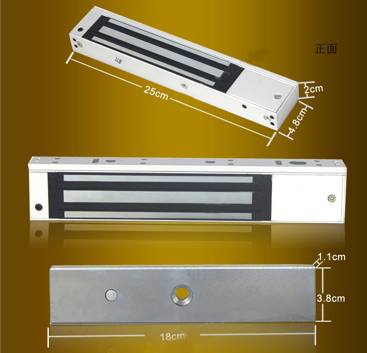 Electric Lock/Electric Magnetic Lock/Electromagnetic Lock for 280kg Access Control System Door (YET-CL280)