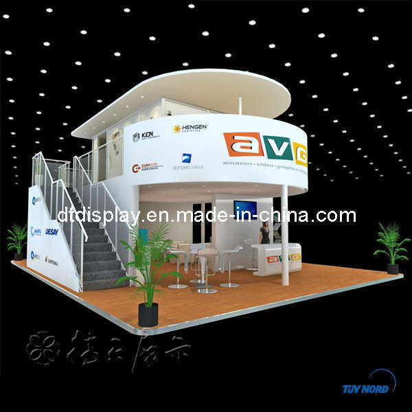 Exhibition Booth Hs Code : China m standard double deck trade show booth