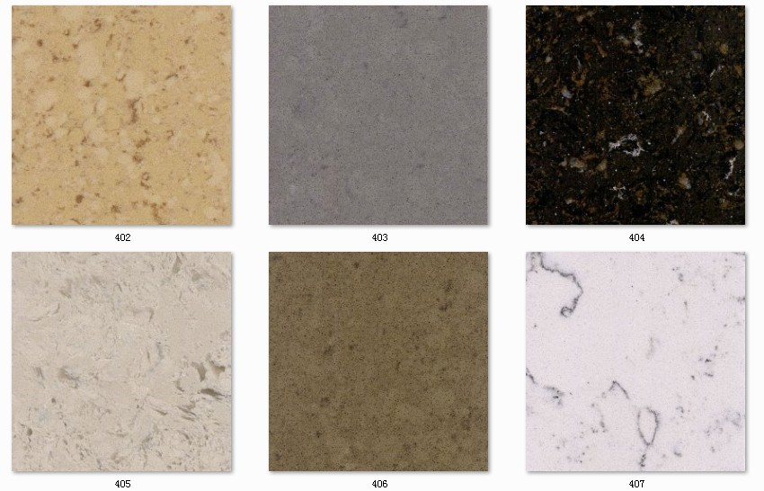 Window Sills Engineered Quartz Stone Artificial Stone of Color White Marble