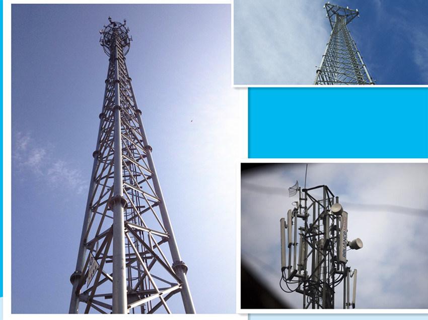 Long Service Life 40m 3 Legged Tower for Telecommunication