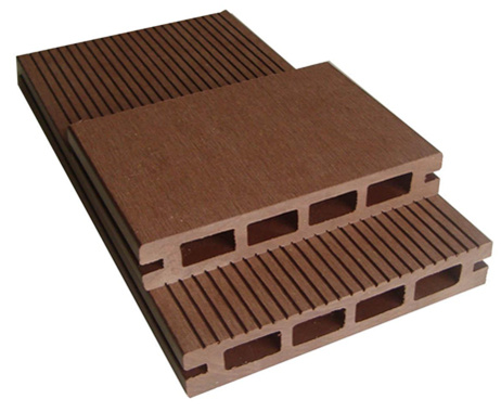 Wood decking plastic wood decking for Plastic decking material
