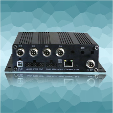 H. 264 Mobile Mini DVR with 4 Channels DV-376