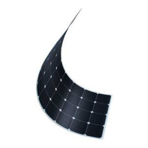 100W 18V Mono Solar Cell Silicon Wafer Price Semi Flexible Panel