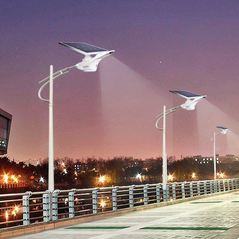 Bluesmart Solar LED Garden Street Light Outdoor Lamp Motion Sensor Lighting