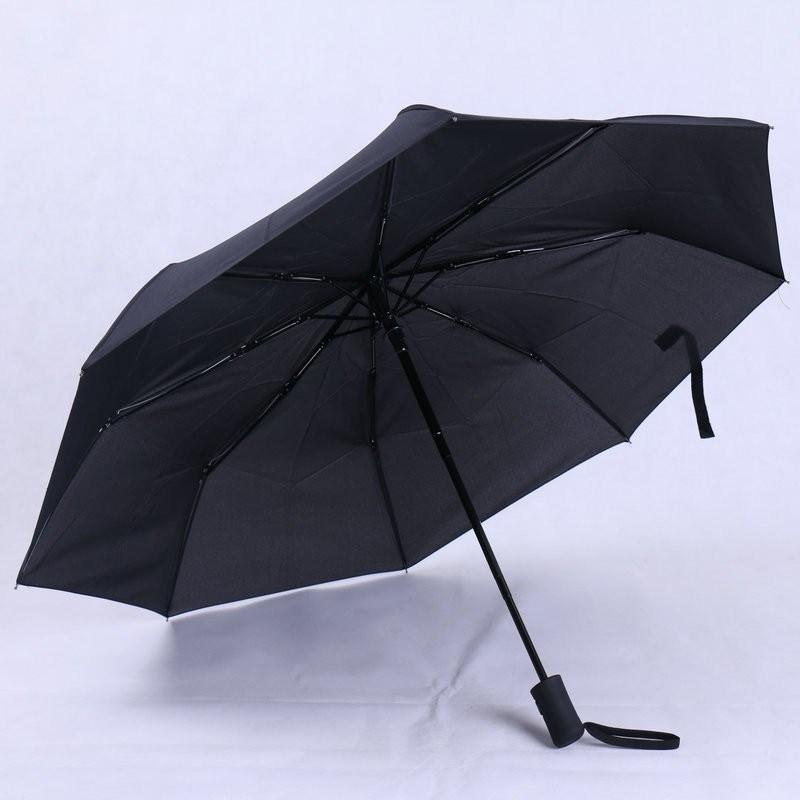 Fashion Women Business Fully Rain Umbrellas UV Parasol Men Automatic Three-Folding Windproof Sun Umbrella