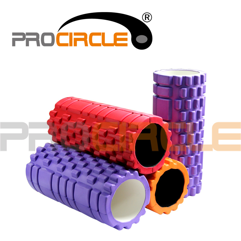 EVA Massage Hollow Trigger Point Foam Roller (PC-FR1029)