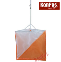 Kanpas Orienteering Marker Flag (OM-01) , 30X30cm #Om-01 (30X30)