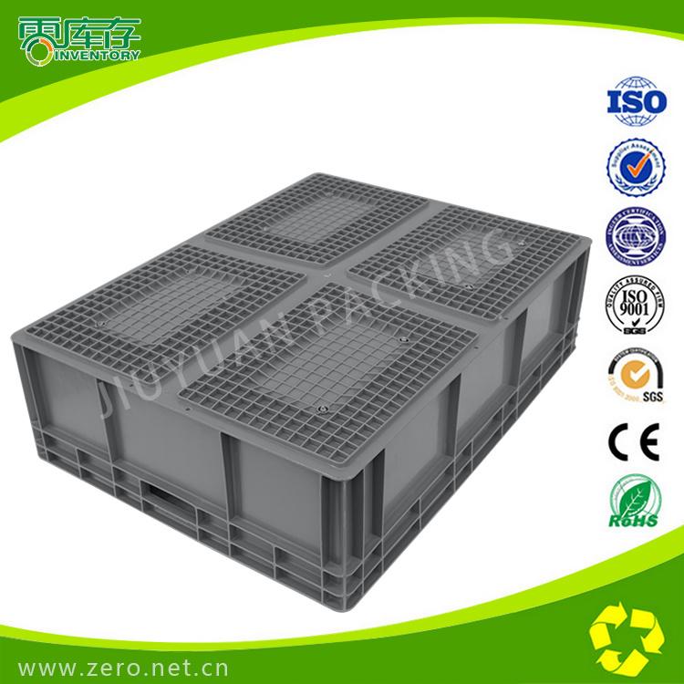 Blue Virgin PP Material Stackable Plastic Box