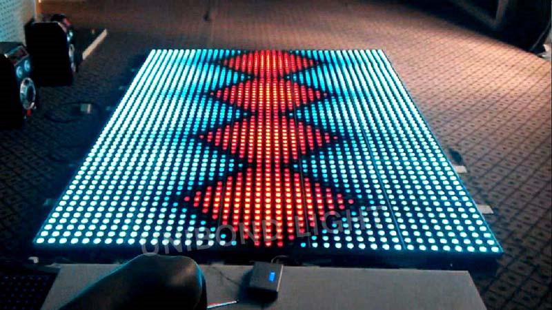 RGB LED Digital Dance Floor for Wedding Event