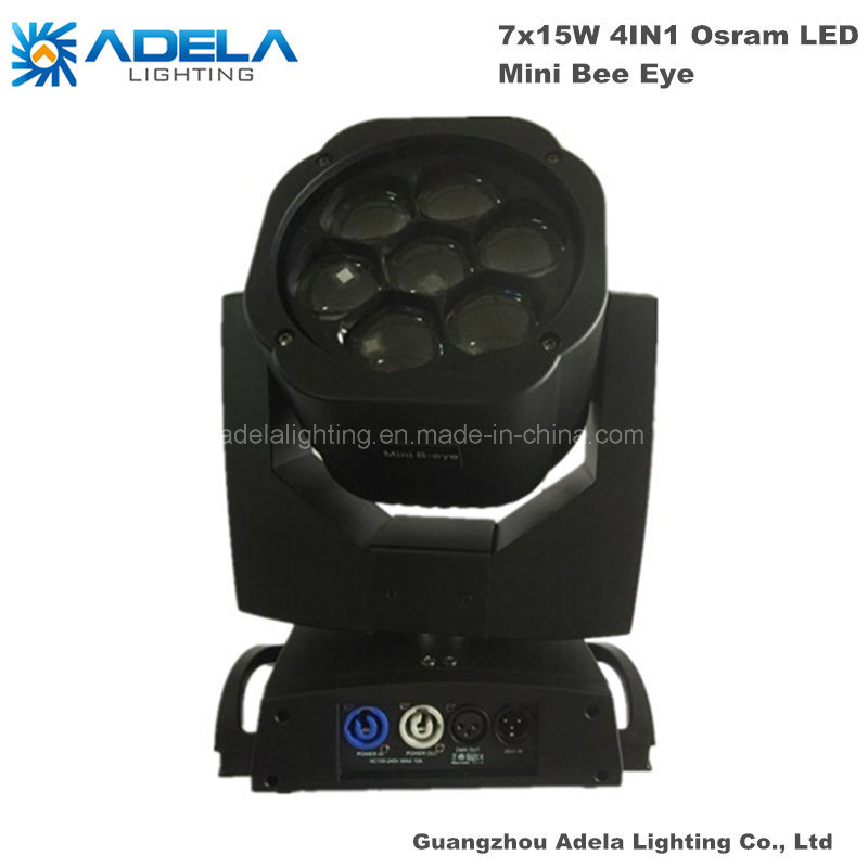 7X15W LED Moving Head Mini Bee Eyes Light