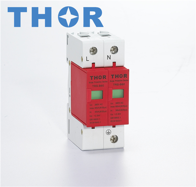 Surge Arrester Lightning Protector Surge Protector for AC Power CE