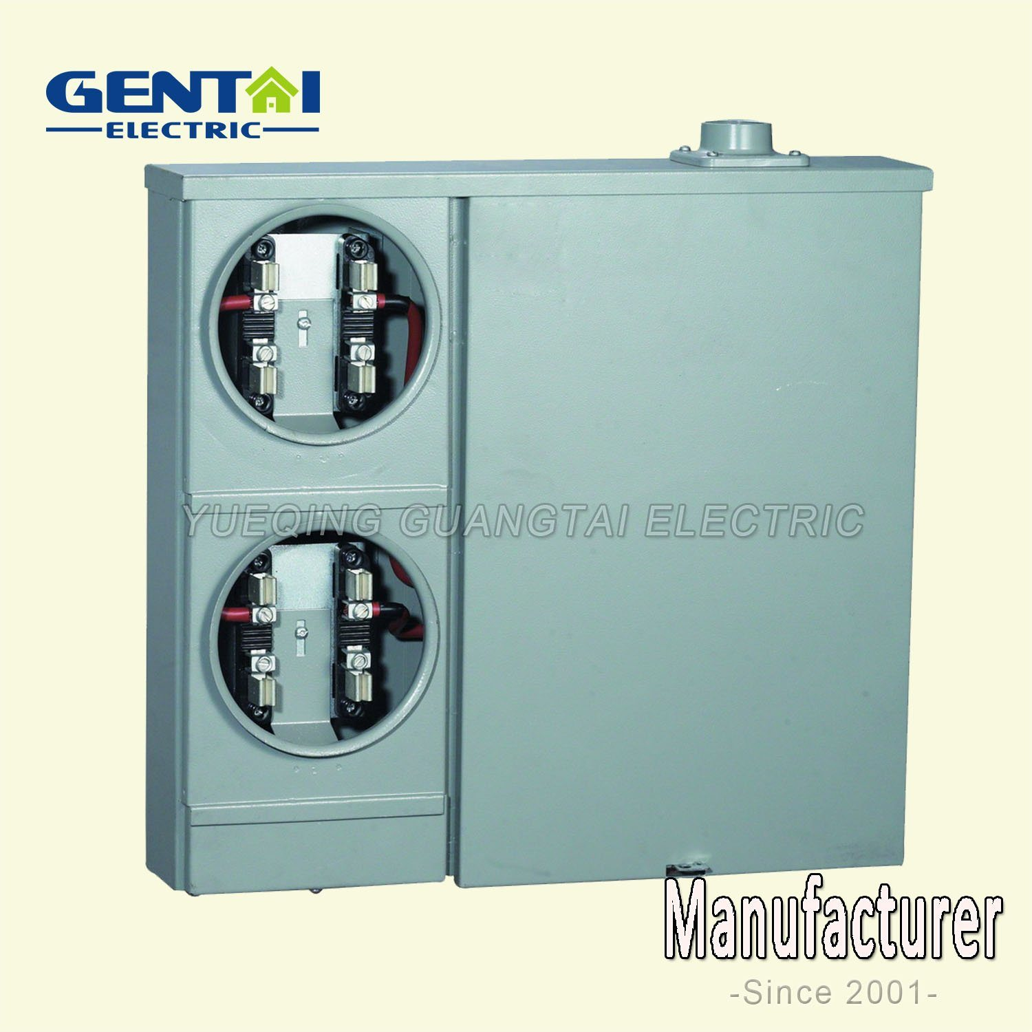 High Quality Cheaper 200A Aluminum Enclosure Combination Meter Base