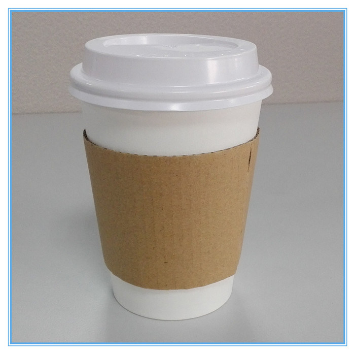 12oz 16oz Paper Coffee Cups with Lids and Sleeves