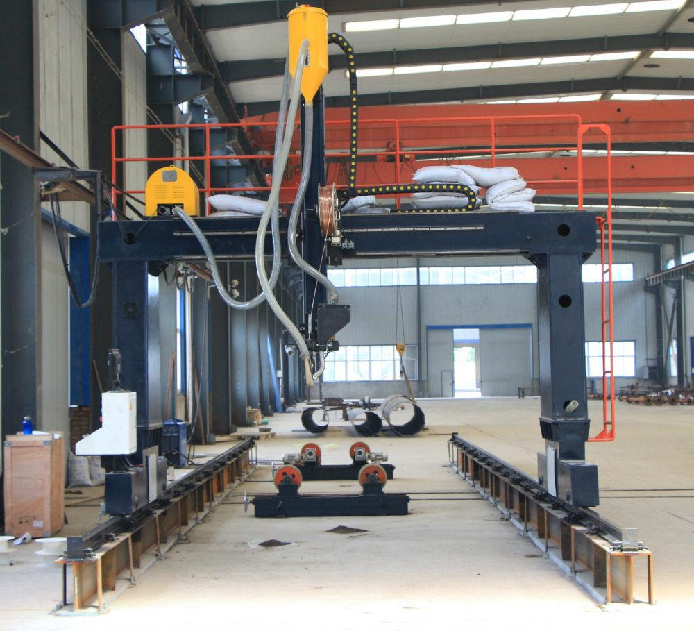 Gantry Type Longitudinal and Circular Seam Welding Machine