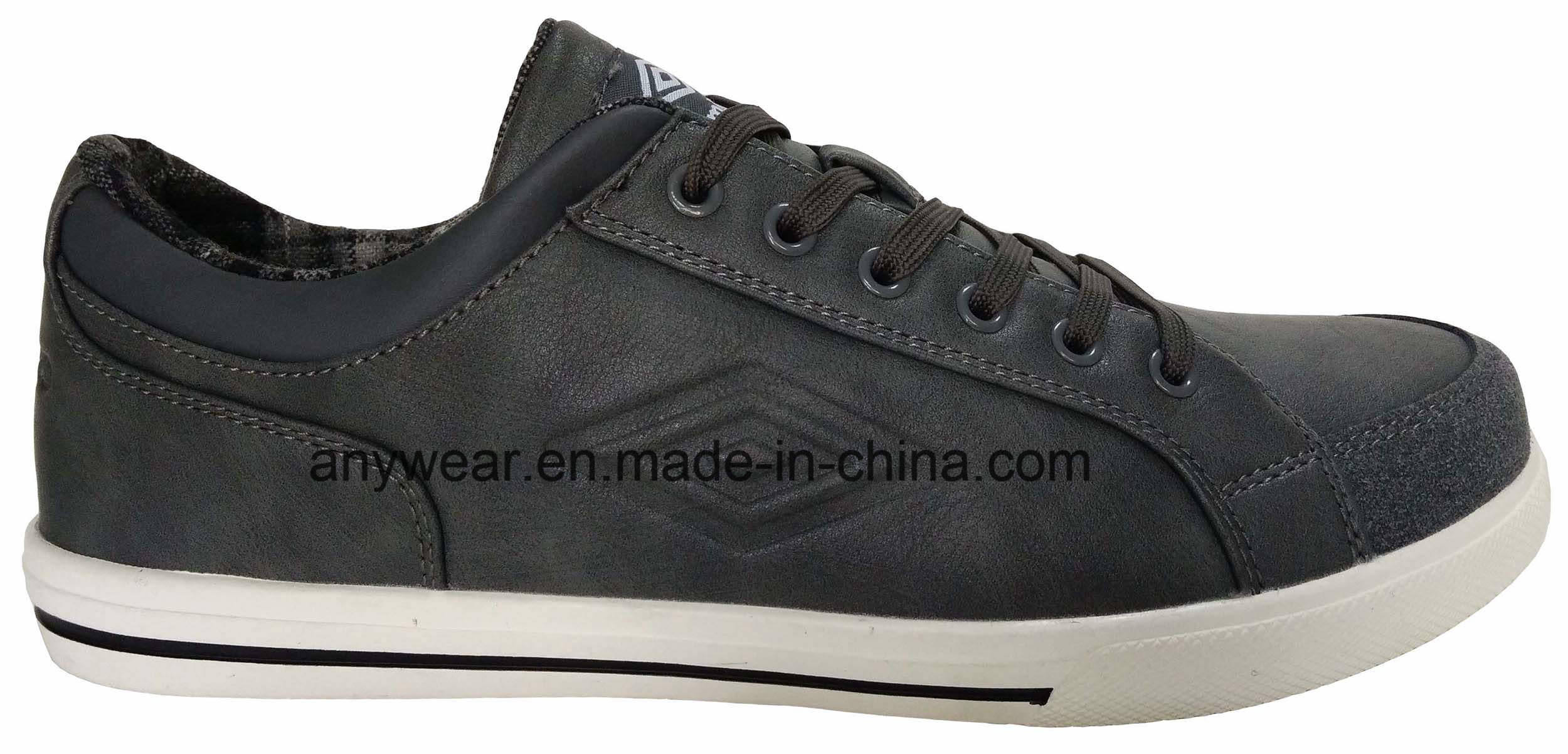 Comfort Footwear Men Leather Casual Shoes (816-2385)