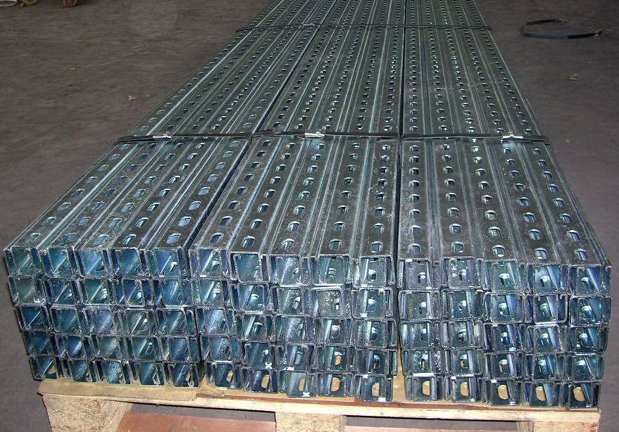Strut Channel /Slotted or Plain Channel