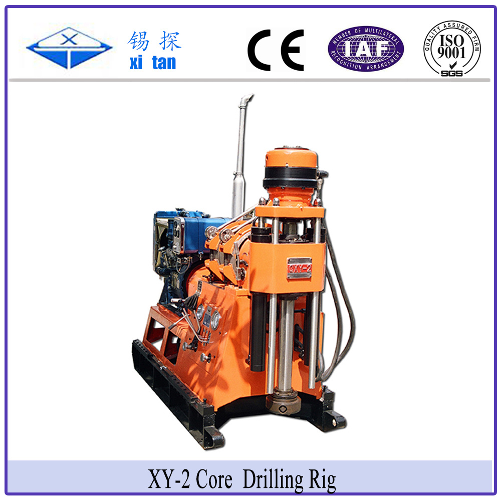 Xitan Xy-2 Core Exploration Drilling Rig Soil Survey Drill Rig Xy2 Geological Exploration Drilling Rig
