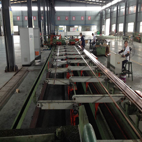 80 Tons Full Automatic Hydraulic Drawing Straightening Machine