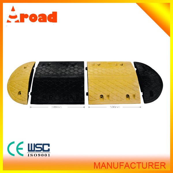 2015 Hot Sales 500*350*50mm Rubber Speed Hump