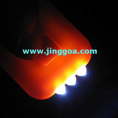 Solar Keychain Flashlight (JL629)