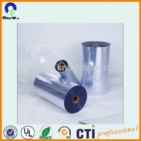 Blister Box Glossy Surface Clear Film Rigid PVC Sheets