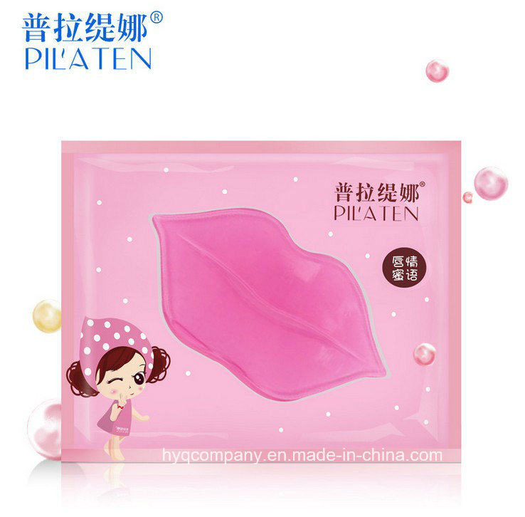 New Version Pilaten Collagen Crystal Moisturizing Lip Mask, Hydrating Anti-Drying Lip Mask for Women′s Sexy Lips