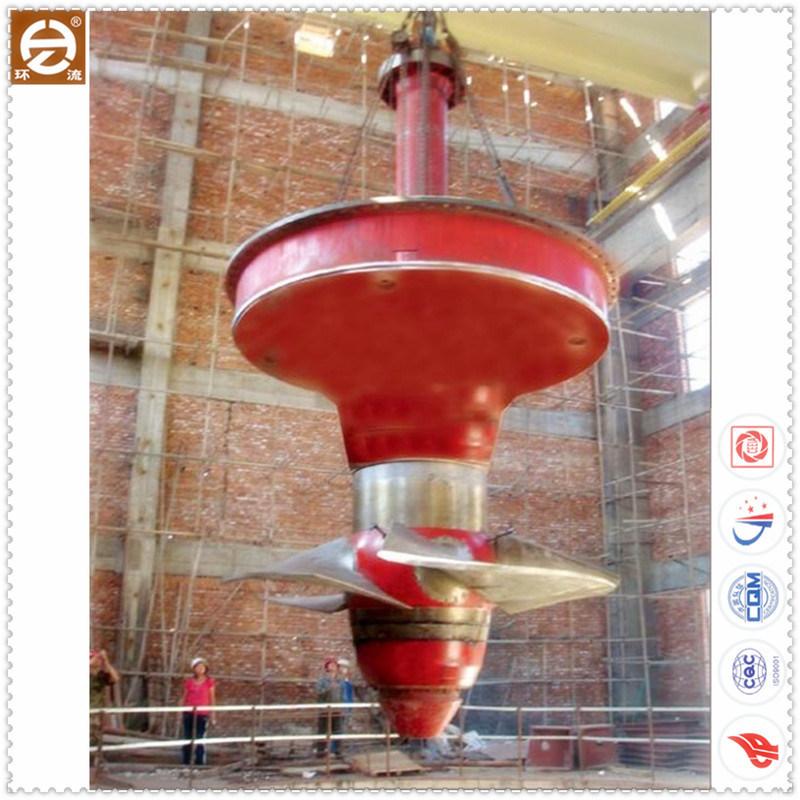 Kaplan Water Turbine /Axial Flow Hydro Turbine Generator with Zzy130-Lh-360