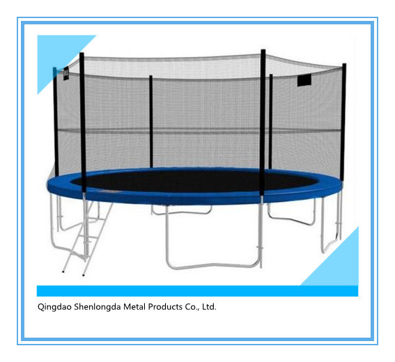 16FT Outdoor Big Trampoline Bungee Trampoline for Kids