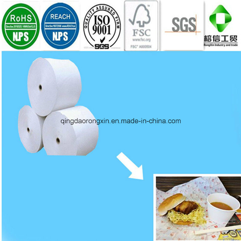 PE Coated Paper for Lotteria Hamburger Packaging