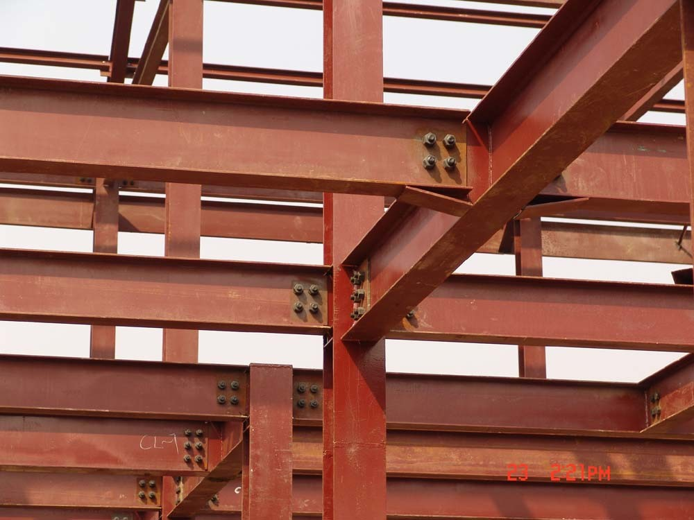 China steel beam connection for workshop china steel for Structural beams for houses