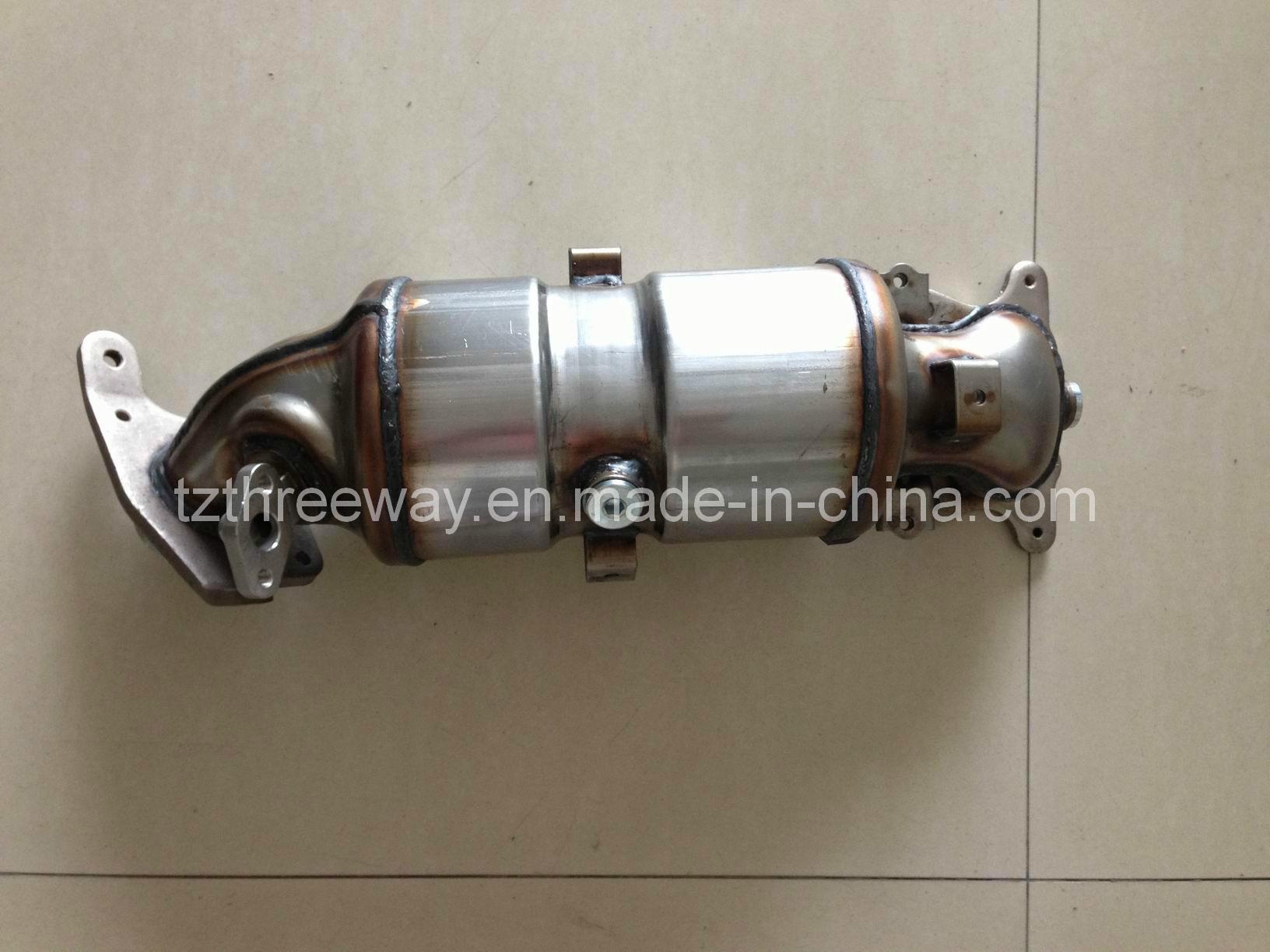 Direct-Fit Catalytic Converter Suitable for Honda Civic Emission Euro4 OBD