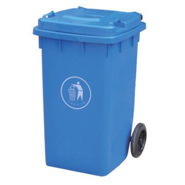 100L Plastic Dustbin with En840 Certificated