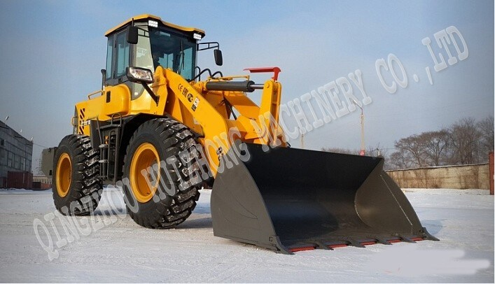 Big Cleaning Snow Machine Tractor Loader Hzm933 Front Mini Wheel Loader for Sale
