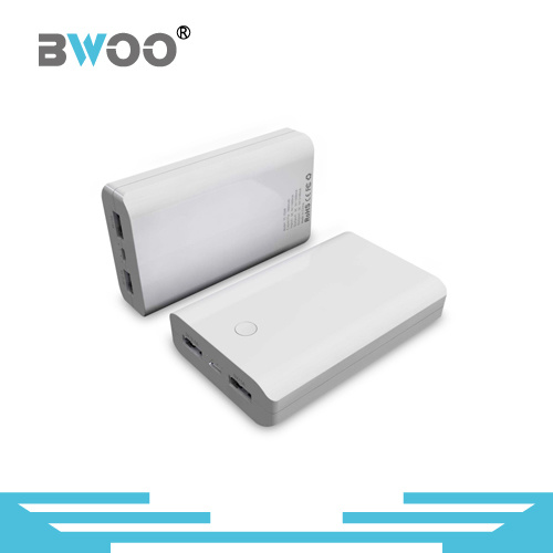 Bwoo Wholesale Gift 6600mAh Portable Power Bank