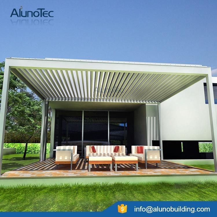 Durable Customized Aluminum Decking Pergola Cover