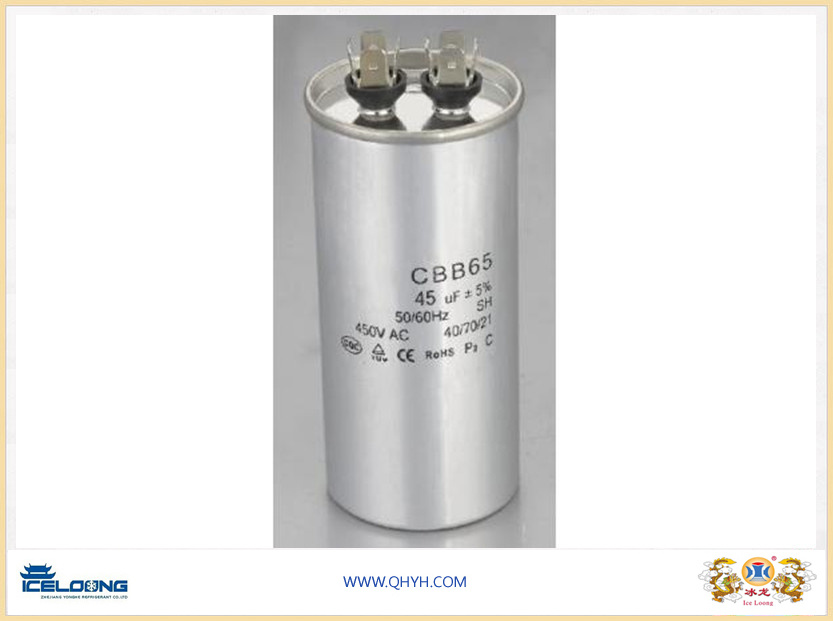 Air Conditioner and Compressor Cbb65 Run Capacitor