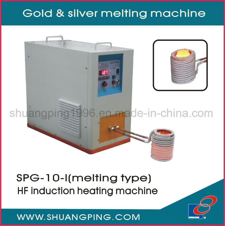 Gold and Silver Melting Machine Spg-10-I
