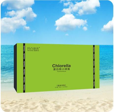 Natural Detoxifier Chlorella Pyrenoidosa Granule Health Food