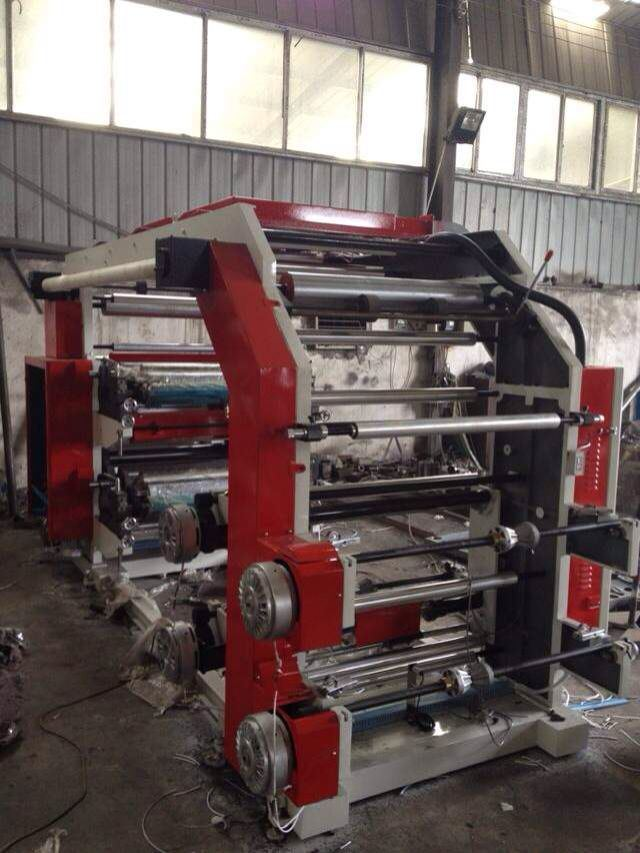 4 Colors Flexo Printing Machine