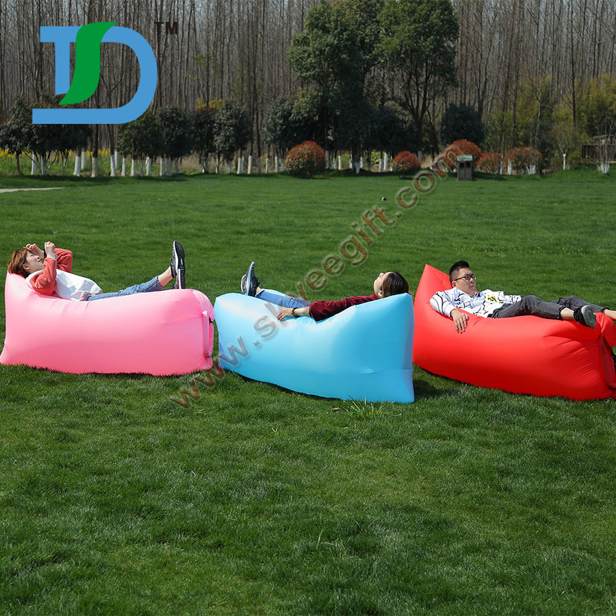 Newest Outdoor Beach Inflatable Air Sleeping Lazy Sofa