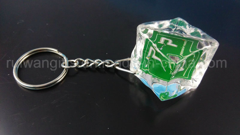 Custom Acrylic Keychain, Custom Keychain, Ice Cube Keychain, Custom Acrylic Key Chain
