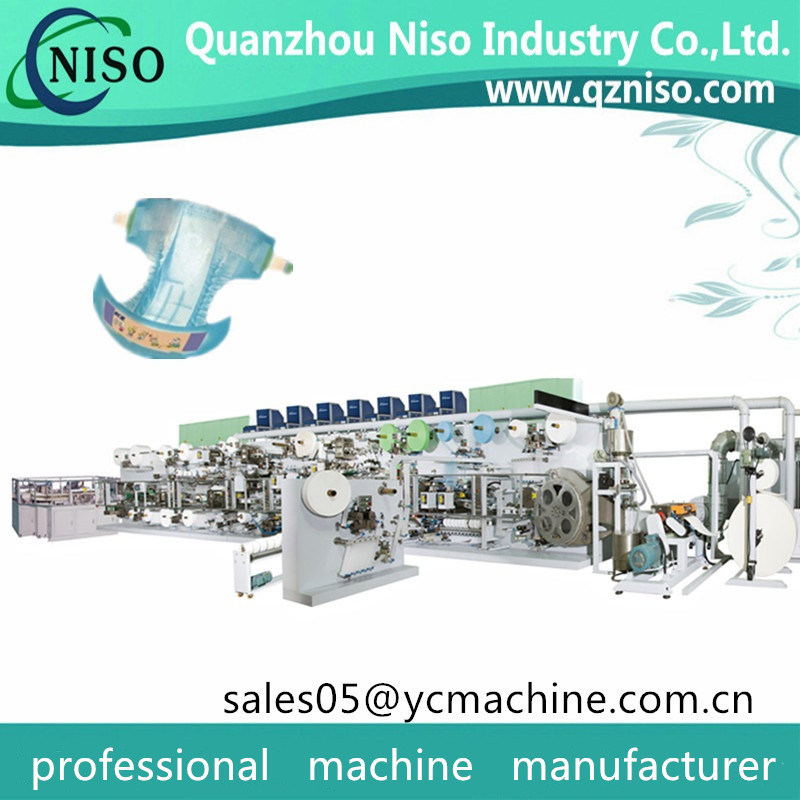 Economic New Design Chiaus Anerie Baby Diaper Machine