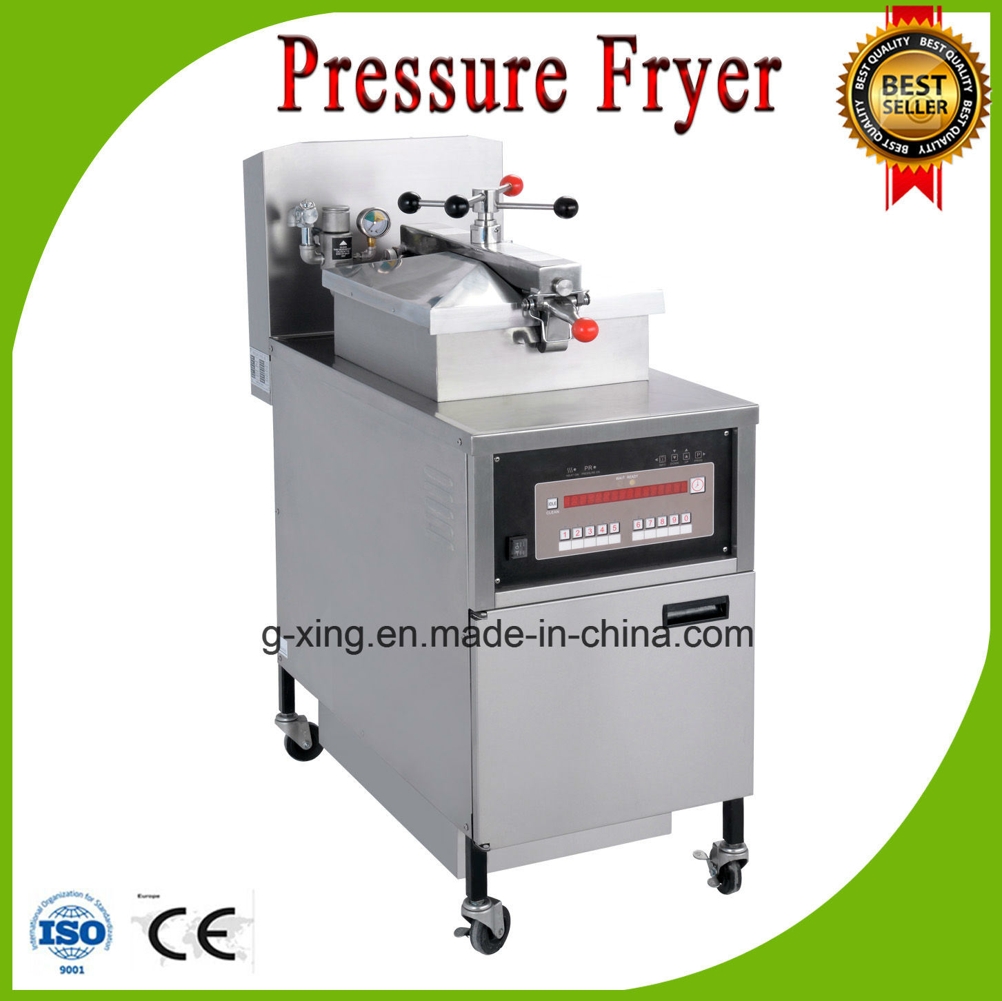 Pfg800 Kfc Chicken Pressure Fryer